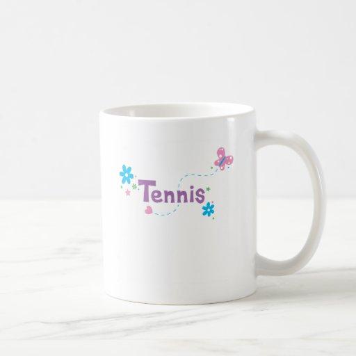 Garden Flutter Tennis Coffee Mug