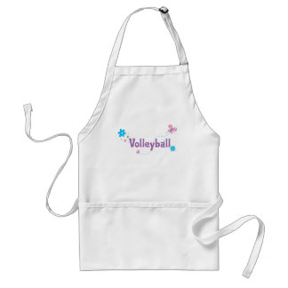 Garden Flutter Volleyball Adult Apron