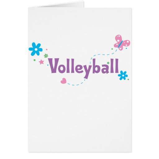 Garden Flutter Volleyball Card