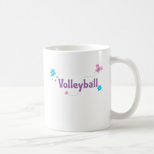 Garden Flutter Volleyball Coffee Mug