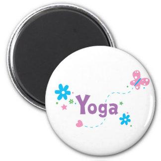Garden Flutter Yoga Magnet