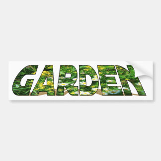 Garden For Life Bumper Sticker