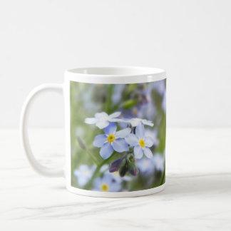 Garden Forget Me Nots Coffee Mug