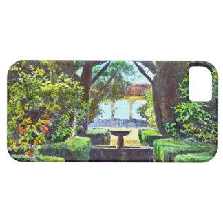 Garden Fountain 1915 iPhone 5 Cover