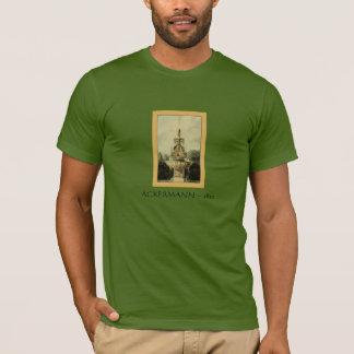 Garden Fountain by Rudolph Ackermann ca, 1820 T-Shirt