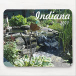 Garden fountain mouse pads