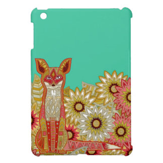garden fox case for the iPad mini