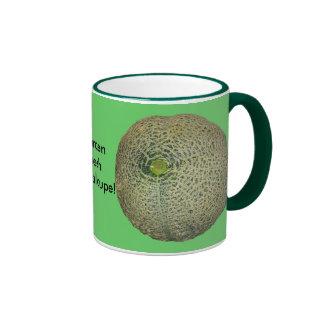 Garden Fresh Cantaloupe Ringer Coffee Mug