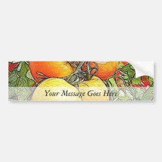 Garden Fresh Heirloom Tomatoes Bumper Sticker