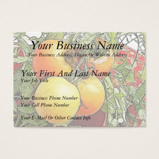 Garden Fresh Heirloom Tomatoes Business Card