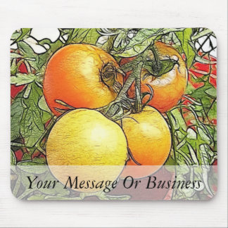 Garden Fresh Heirloom Tomatoes Mouse Pad