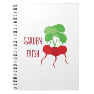 Garden Fresh Notebook