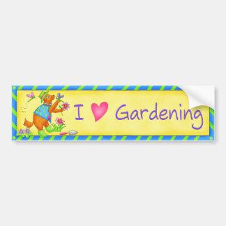 Garden Friends Bumper Sticker