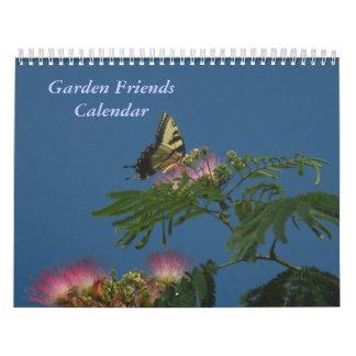 Garden Friends Calendar 2011