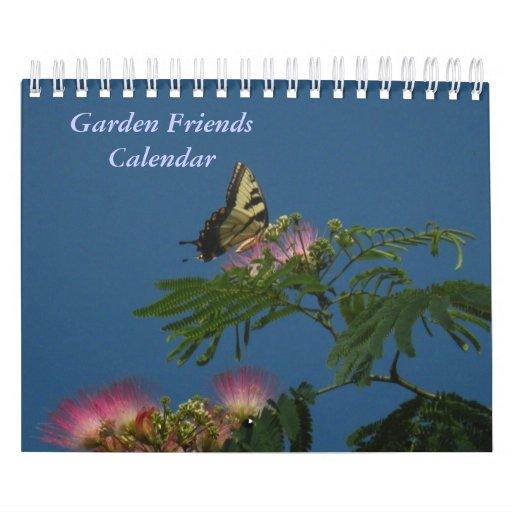 Garden Friends Calendar 2012