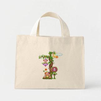 Garden Friends Pixel Art Mini Tote Bag