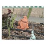 Garden friends wall calendar