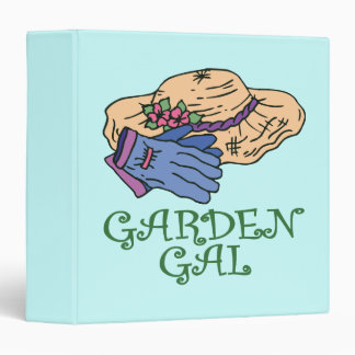Garden Gall 3 Ring Binder