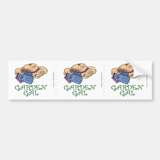 Garden Gall Bumper Sticker