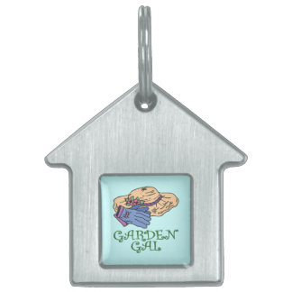 Garden Gall Pet ID Tag