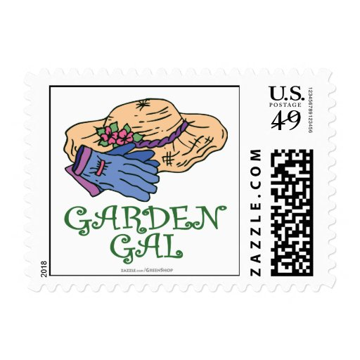 Garden Gall Postage Stamps