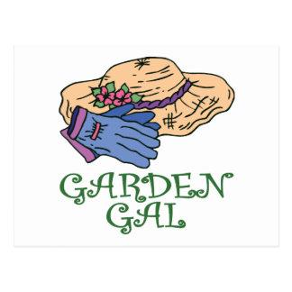 Garden Gall Postcard