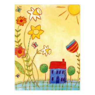 garden galore postcard