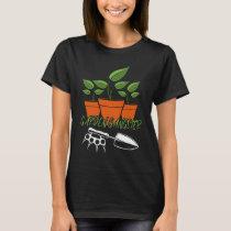 Garden Gangster Funny Gardening T-Shirt