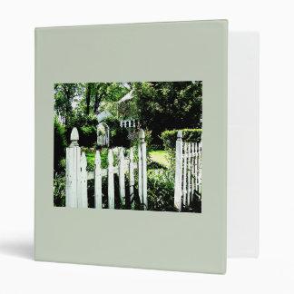 Garden Gate 3 Ring Binder