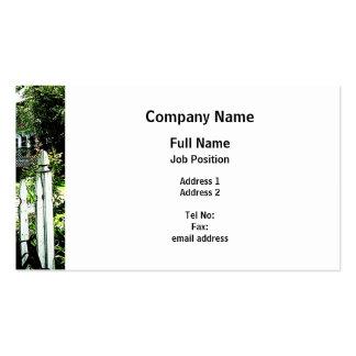 Garden Gate Business Cards