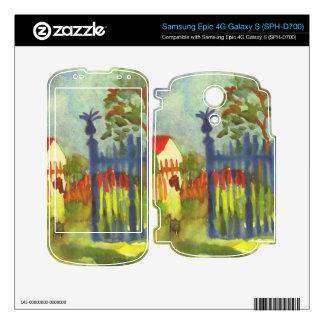 Garden gate by August Macke Decals For Samsung Epic