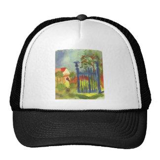 Garden gate by August Macke Trucker Hat