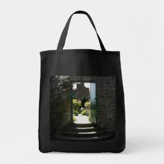 Garden gate canvas bag