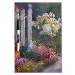 Garden Gate Dry-Erase Board