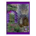 Garden Gate Fairy Cottage Cards