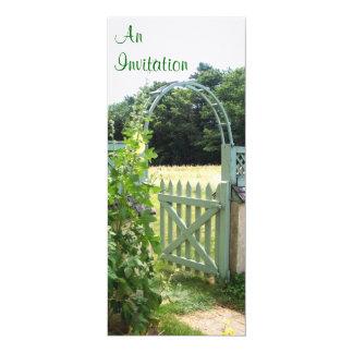 Garden Gate Invitation