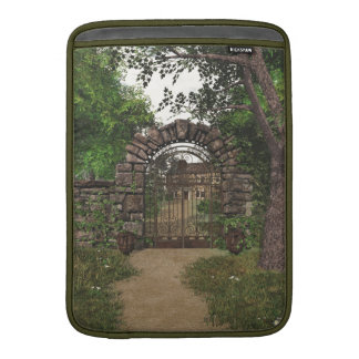 Garden Gate Macbook Air Sleeve