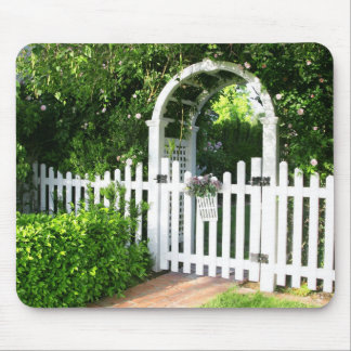 Garden Gate Mousepad