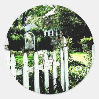 Garden Gate Stickers