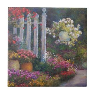 Garden Gate Ceramic Tile