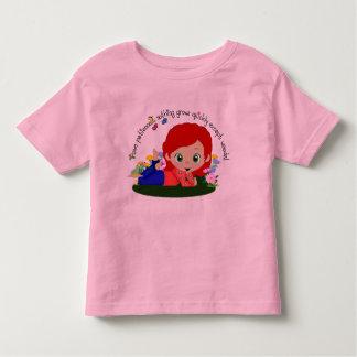 Garden Girl - Redhead Toddler T-shirt