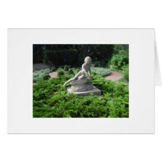 Garden Girl Thank You Stationery Note Card