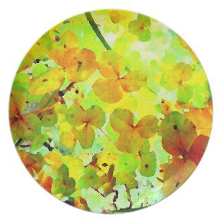 Garden Glow Art Photo Plate Wall Decor Gift