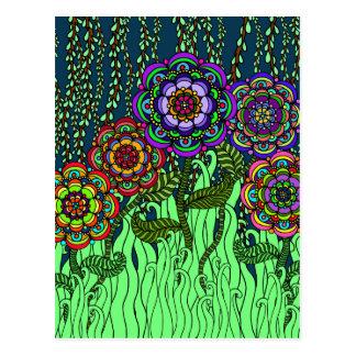 Garden Glow Postcard