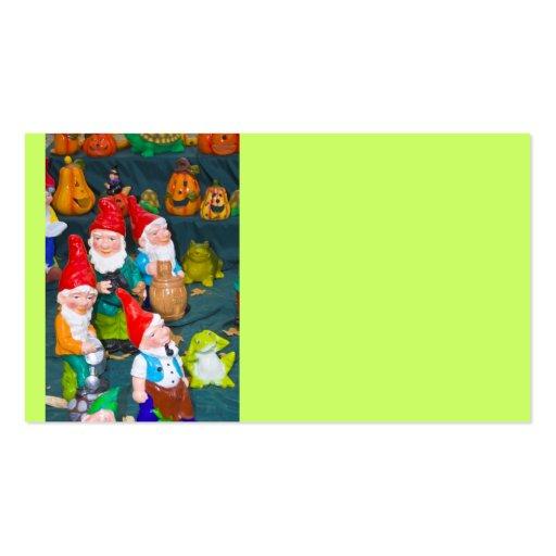 Garden gnome business cards