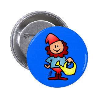 Garden gnome buttons
