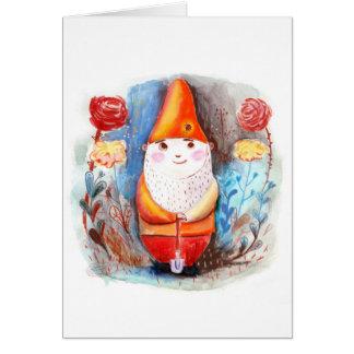 Garden Gnome Card