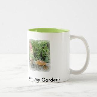 Garden gnome coffee mug