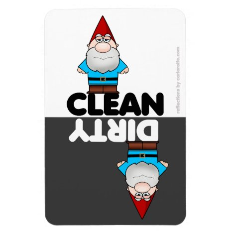 Garden Gnome Dishwasher Magnet