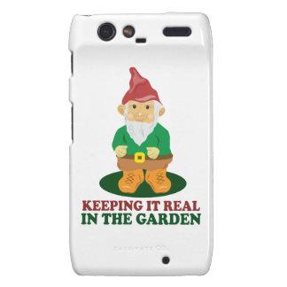 Garden Gnome Droid RAZR Cover